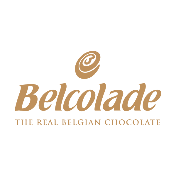 The Red Vintage Belcolade The Real Belgian Chocolate Logo Brown